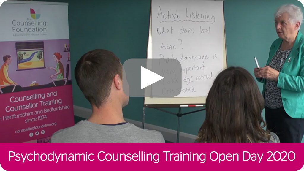 Psychodynamic Counselling Training Online Open Day